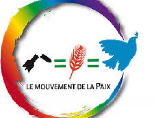 Nucléaire iranien : Déclaration du Mouvement de la paix